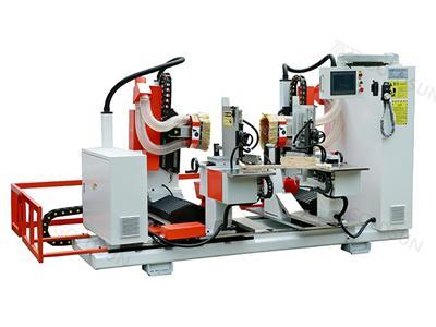 Fully Automatic CNC Double End Tenoner